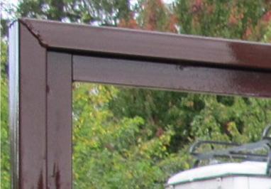 Тщательная обработка сварных швов ворот 2