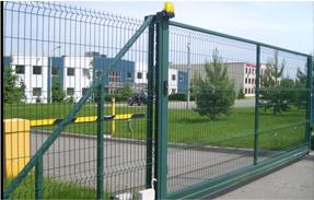 Откатные ворота пример 6