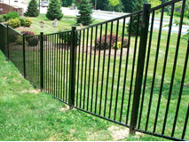 Сварной забор пример 1