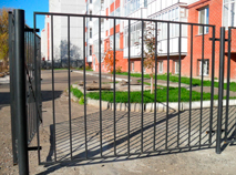 Сварной забор пример 2