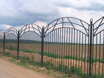Сварной забор пример 3