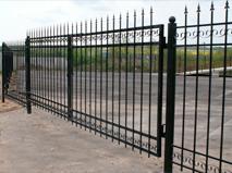 Сварной забор пример 5