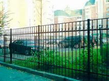 Сварной забор пример 7