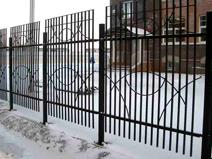 Сварной забор пример 8